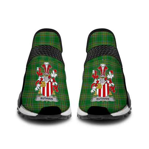 Image of Ruthven Ireland Like NMD Human Shoes - Irish National Tartan A31