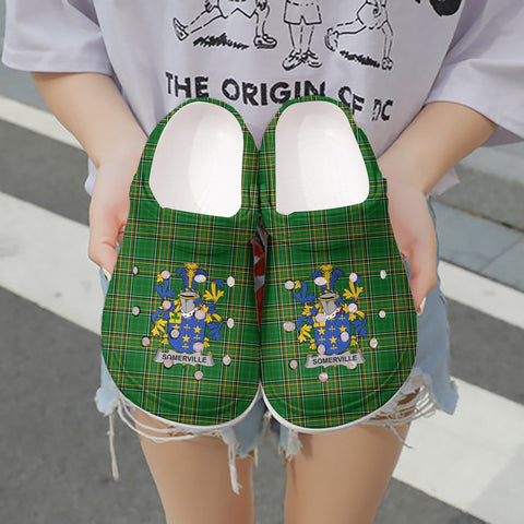 Somerville Ireland Clogs - Irish National Tartan A31