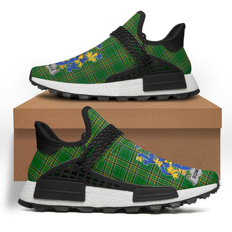 Somerville Ireland Like NMD Human Shoes - Irish National Tartan A31