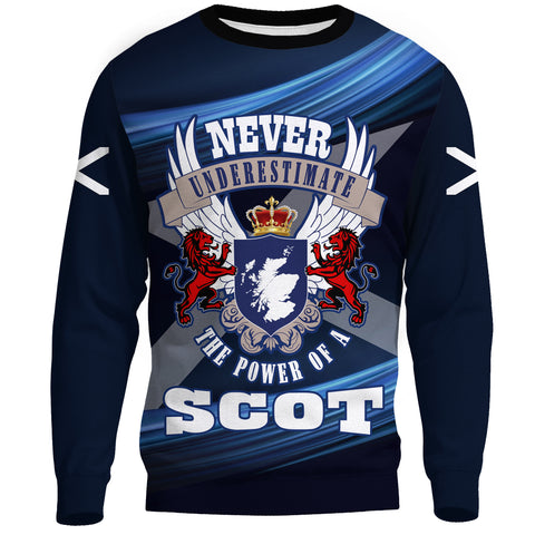 1stScotland Sweatshirt - The Power Of A Scot