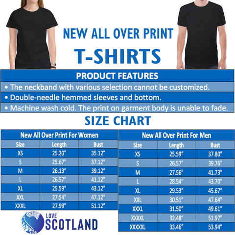 Scotland T-Shirt - Lion Thistle Celtic Purple A24