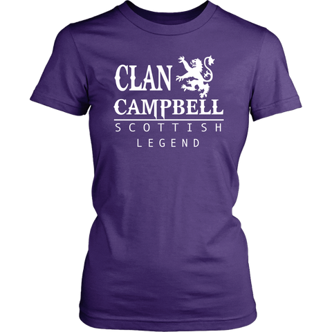 Clan Campbell Scottish Legend T-Shirts And Hoodies | Exclusive Over 300 Clans | Love Scotland