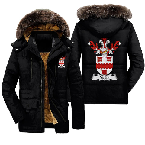 Yetts Family Crest Parka Jacket | Premium Quality Printing | Fast Shipping