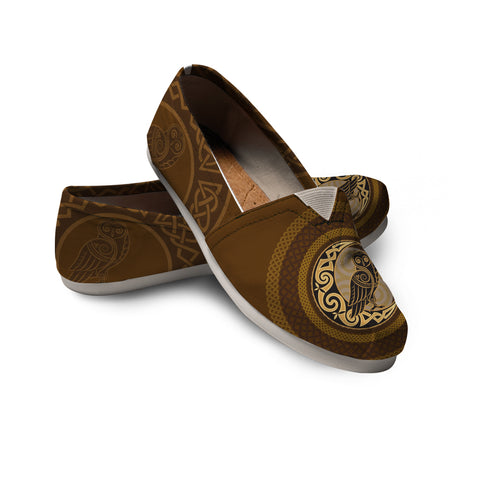 Celtic Raven Women's Casual Shoes - Scotland Shoe