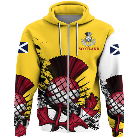 Scotland Zipper Hoodie Special Version (Yellow)