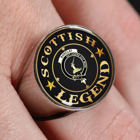 Crest Ring - Barclay Scottish Legend  | Scotland Luxury Accessories