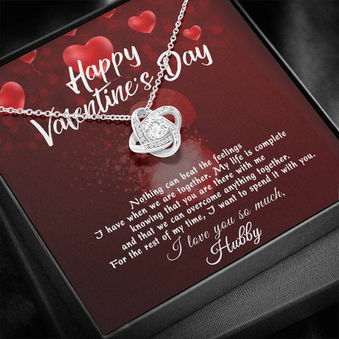Image of 1stScotland Gift Happy Valentine's Day Necklace