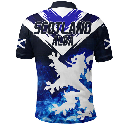 1stScotland Polo Shirt Scottish Lion - New Release A7