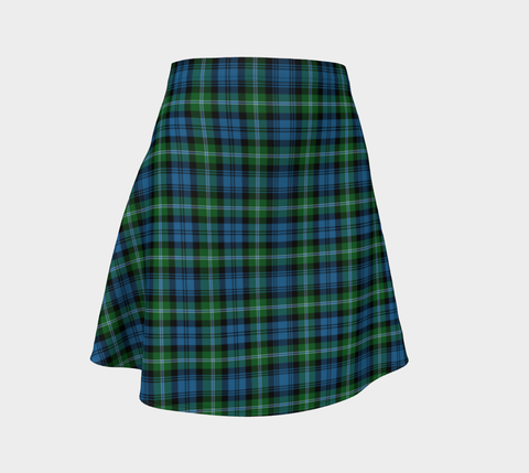 Tartan Flared Skirt - Lyon Clan |Over 500 Tartans | Special Custom Design | Love Scotland