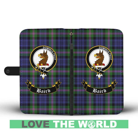 Tartan Wallet Case - Baird Clan | Scottish Wallet Case | 1stScotlands