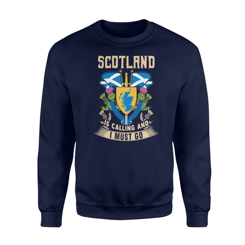 Image of Scotland Flag Premium Fleece Sweatshirt
