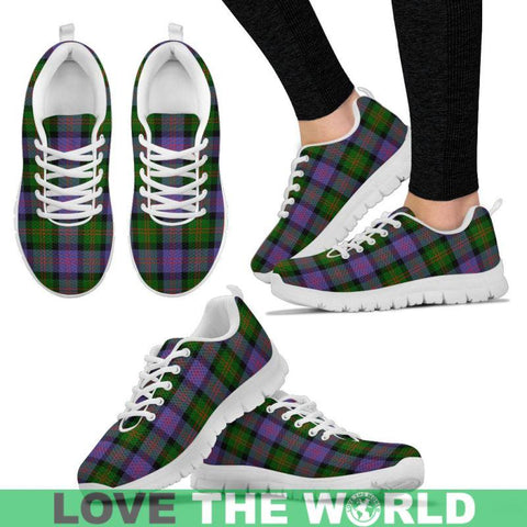 Image of Blair Modern Tartan Sneakers - Bn Mens Sneakers White 1 / Us5 (Eu38)