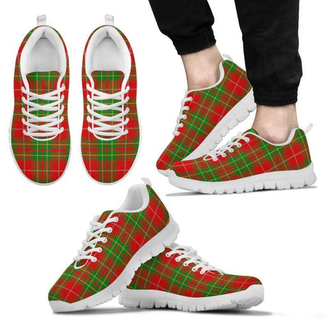 Burnett Ancient Tartan Sneakers - Bn Mens Sneakers White 1 / Us5 (Eu38)