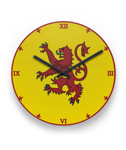 Image of Scotland Wall Clock - Coat Of Arms | Special Custom Design