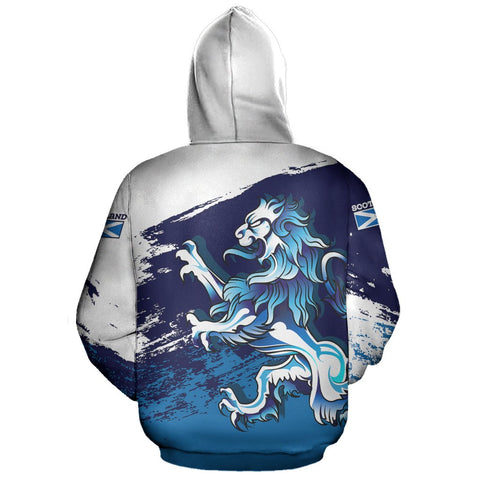 Image of Rampant Lion - Scotland Pullover Hoodie | Clothing | Love Scotland