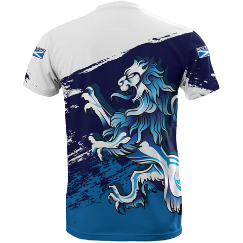 Image of Rampant Lion - Scotland T-shirt | Clothing | Love Scotland