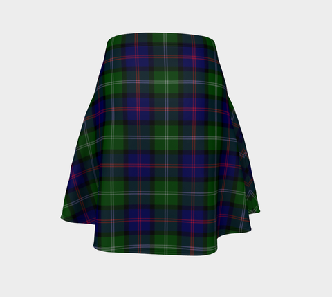 Tartan Skirt, MacThomas Modern Scottish Flared Skirt A9