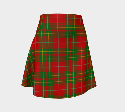Tartan Flared Skirt - Burnett Ancient |Over 500 Tartans | Special Custom Design | Love Scotland