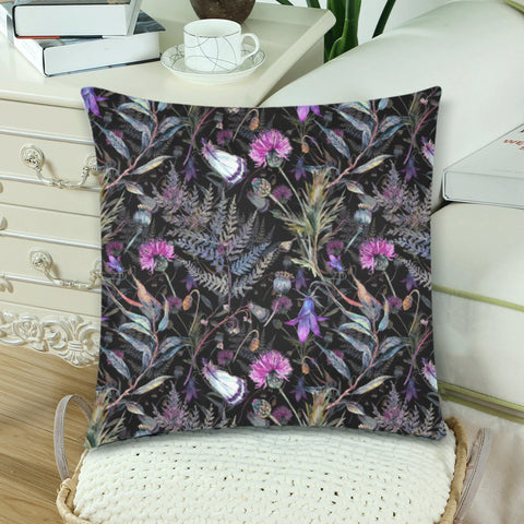Image of Dark Thistle - Pillow Covers | Special Custom Design