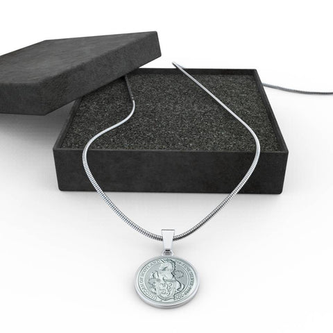 Image of The Unicorn Of Scotland Coin Necklace | Special Custom Design