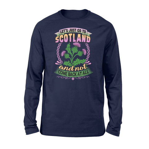 Image of Thistle Flower Premium Long Sleeve