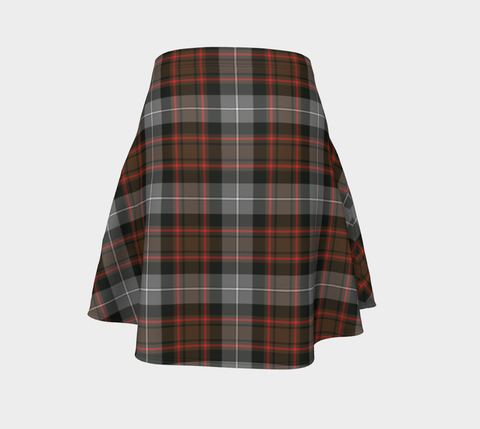 Tartan Flared Skirt - MacRae Hunting Weathered |Over 500 Tartans | Special Custom Design | Love Scotland