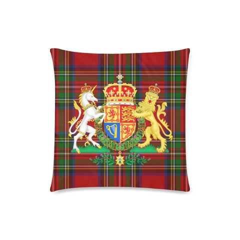 Image of Scotland Coat Of Arms - Pillow Cushions Cover | Special Custom Design
