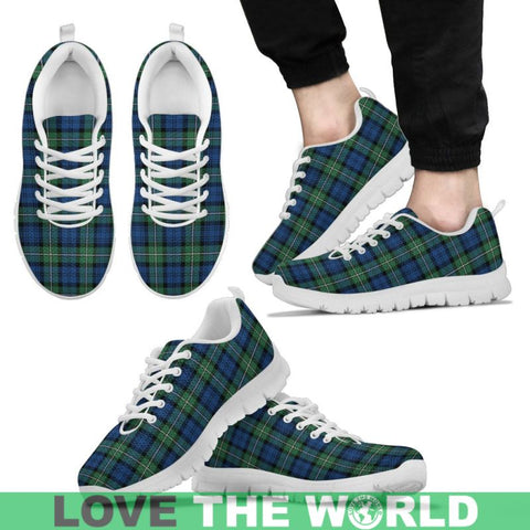 Forbes Ancient Tartan Sneakers - Bn Mens Sneakers Black 1 / Us5 (Eu38)