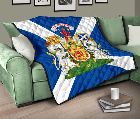 Scotland Premium Quilt - Royal Arms OfScotland