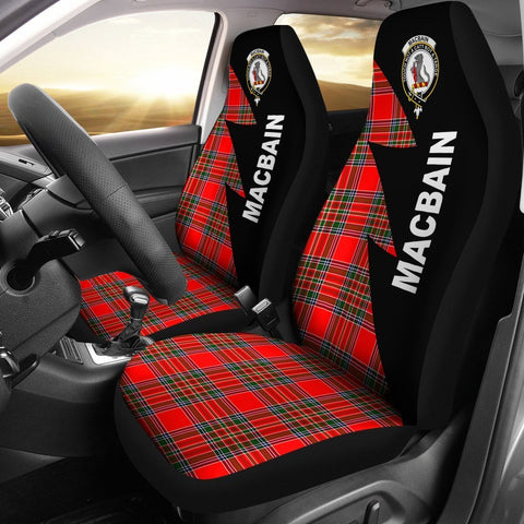 MacBain Clans Tartan Car Seat Covers - Flash Style