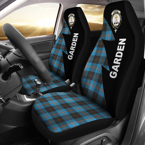 Garden Clans Tartan Car Seat Covers - Flash Style