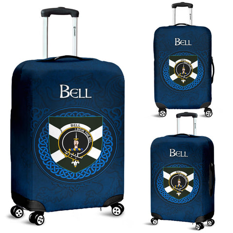 Bell Crest Scottish Lion Scotland Luggage Covers | Over 300 Clans