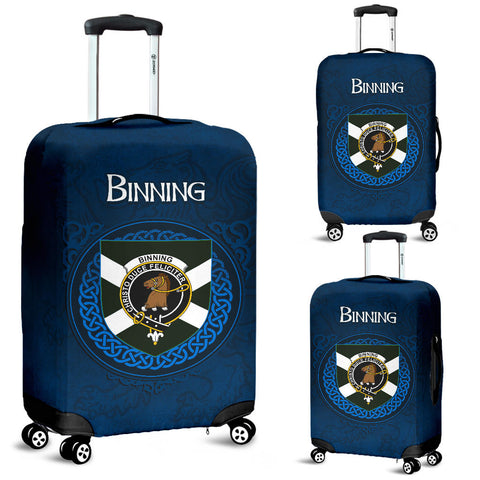 Binning (of Wallifoord) Crest Scottish Lion Scotland Luggage Covers | Over 300 Clans