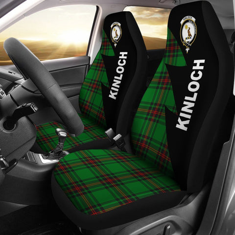 Kinloch Clans Tartan Car Seat Covers - Flash Style