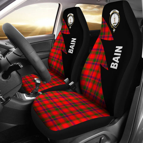 Bain Clans Tartan Car Seat Covers - Flash Style