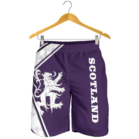 Scotland  Short - Lion Thistle Purple (Men) A24