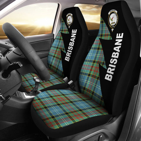 Brisbane Clans Tartan Car Seat Covers - Flash Style
