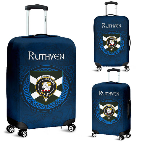 Ruthven Crest Scottish Lion Scotland Luggage Covers | Over 300 Clans