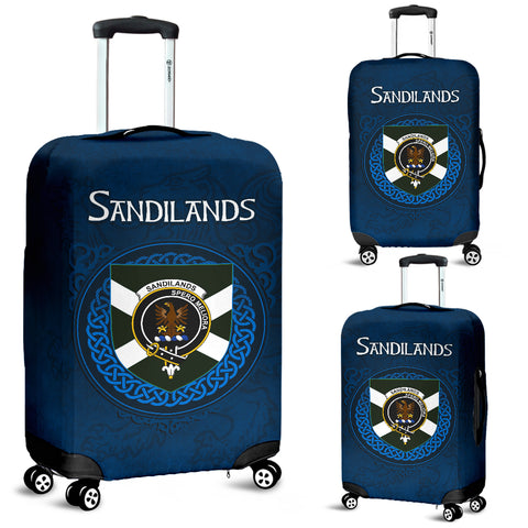Image of Sandilands Crest Scottish Lion Scotland Luggage Covers | Over 300 Clans