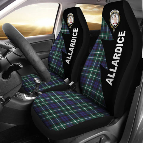 Image of Allardice Clans Tartan Car Seat Covers - Flash Style