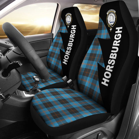 Horsburgh Clans Tartan Car Seat Covers - Flash Style