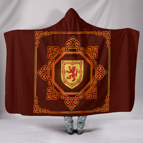Scotland Hooded Blanket - Scotland Royal Banner | Love Scotland