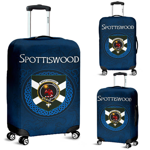 Spottiswood Crest Scottish Lion Scotland Luggage Covers | Over 300 Clans