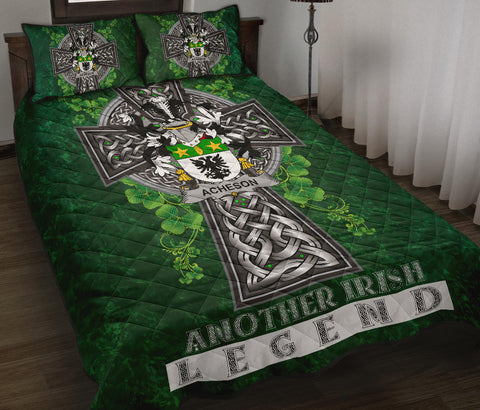 Image of Acheson Ireland Quilt Bed Set Irish Legend | Over 1400 Crests | Home Set | Home Decor