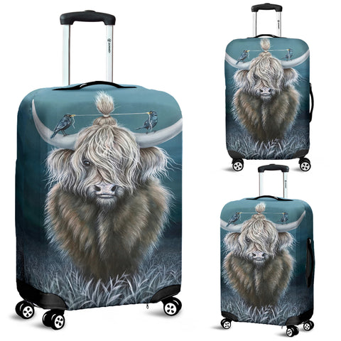 Cattle Highland Cow 02 - Luggage Covers | Special Custom Design