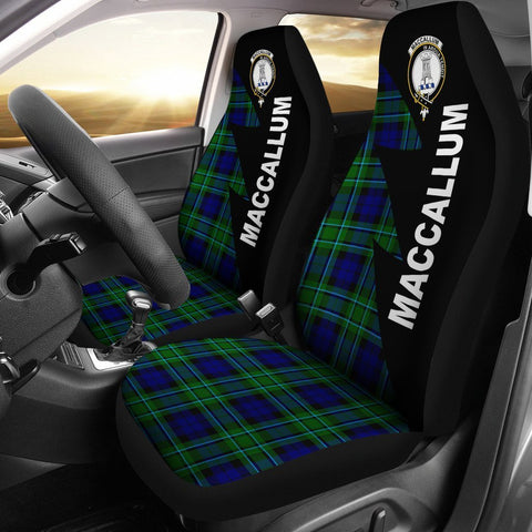 MacCallum Clans Tartan Car Seat Covers - Flash Style