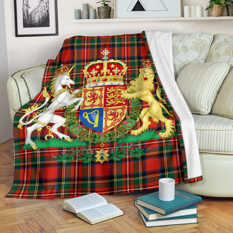 Scottish Royal Premium Blanket | Love Scotland