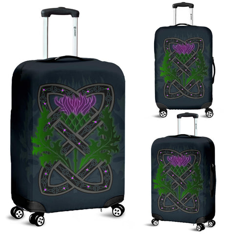 Celtic Myth Thistle Luggage Covers | Love Scotland
