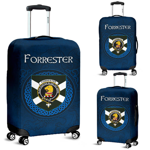 Forrester Crest Scottish Lion Scotland Luggage Covers | Over 300 Clans