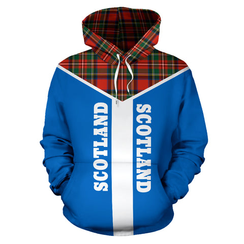 Image of Neo Scotland Pullover Hoodie | Men & Women | Clothing